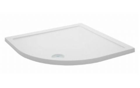 Ultra Pearlstone 1000mm x 1000mm Quadrant Shower Tray